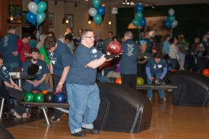 man getting ready to bowl