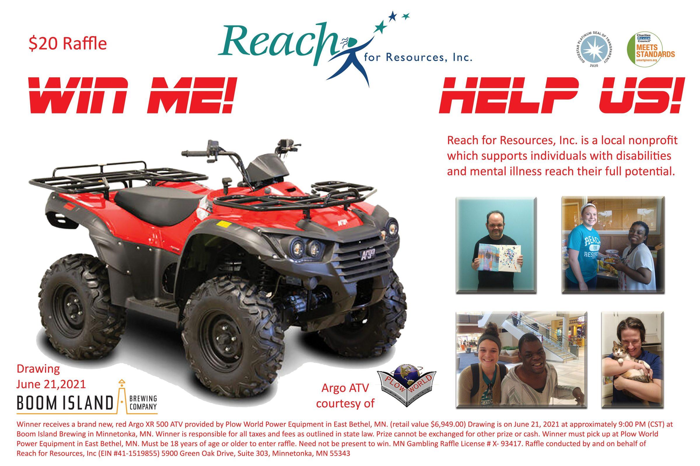 Win an Argo XR 500 ATV