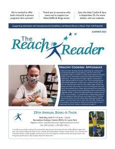 Reach for Resouces summer reader