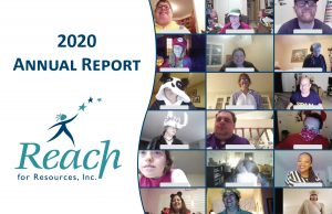 Cover for 2020 Reach Annual Report