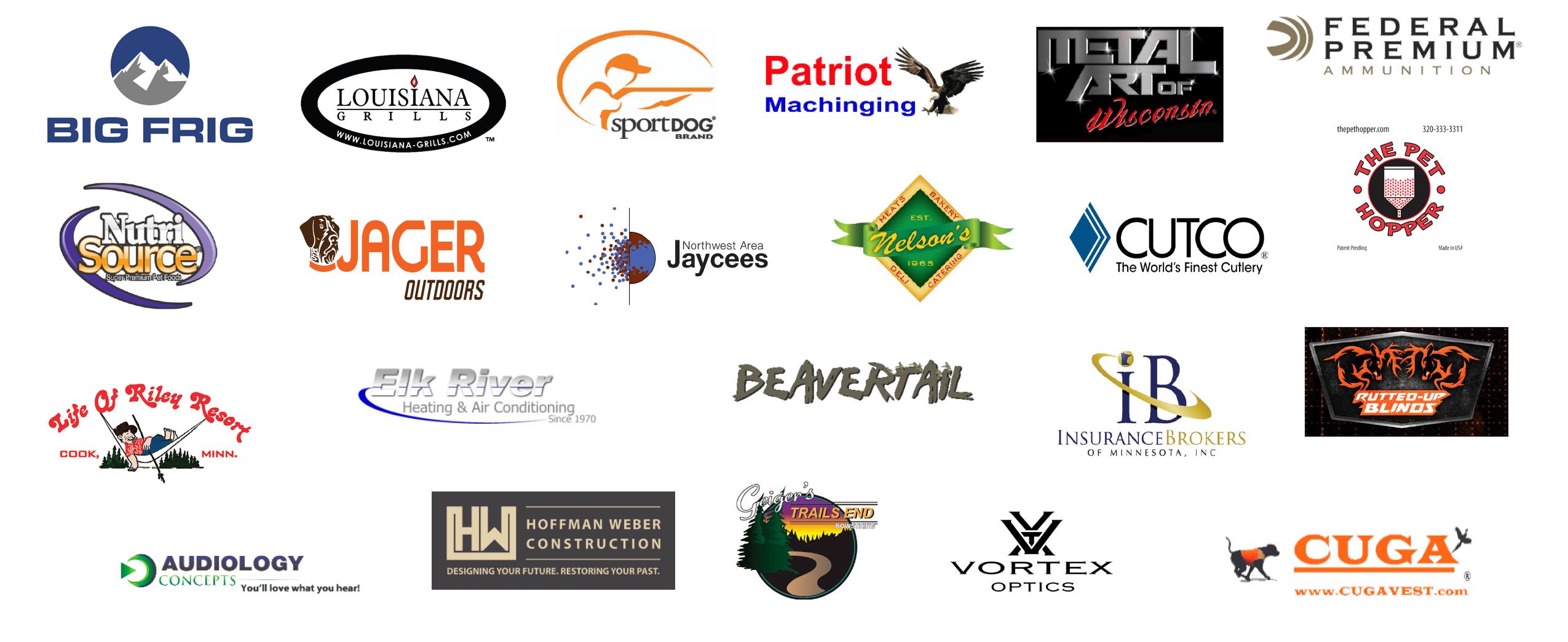 Cackle & spur sponsors